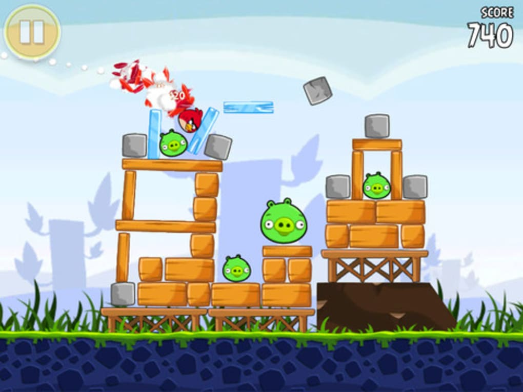 Angry birds hd free pour iphone t l charger - Telecharger angry birds gratuit ...