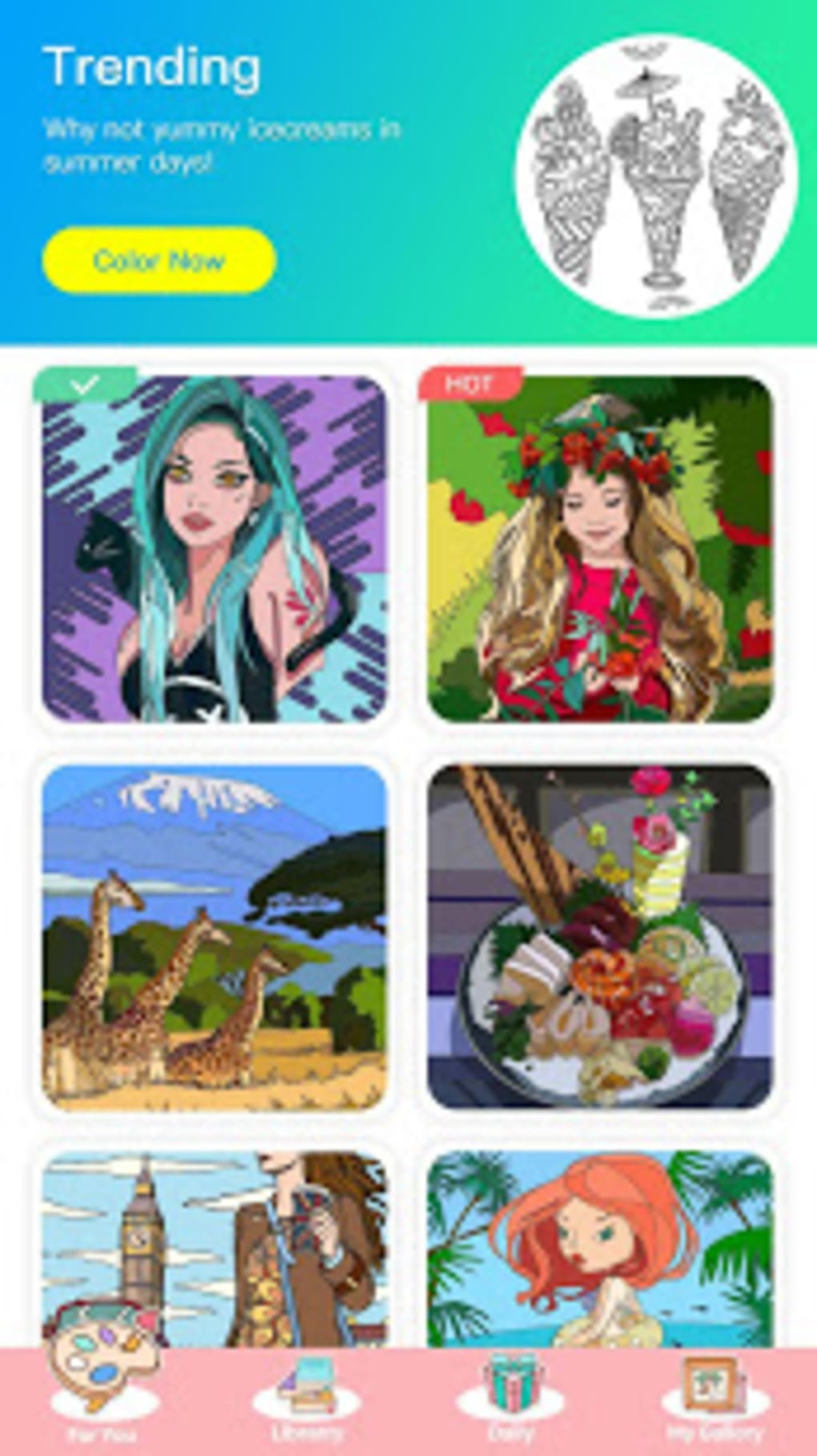 Color Master - Free Coloring Games Painting Apps for Android ...