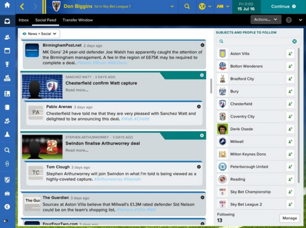 Football Manager Touch 2017 for Android - Download