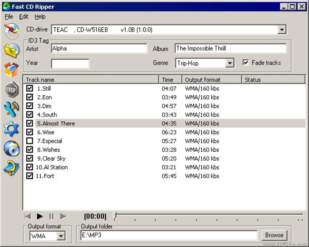 Fast CD Ripper - Download
