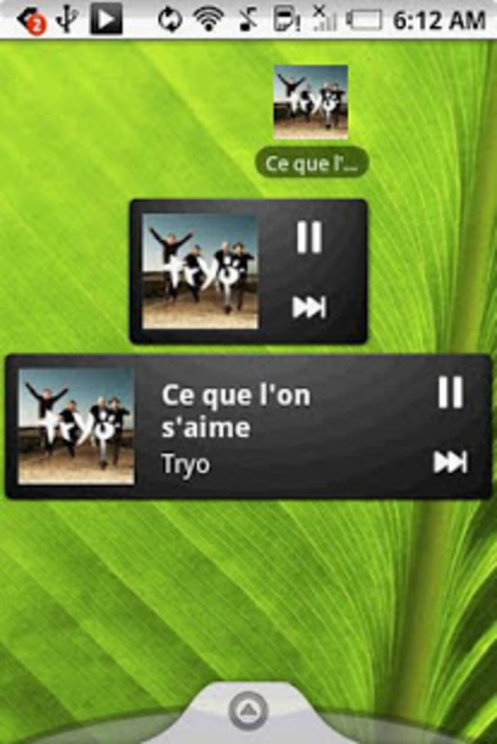 Pure music widget for Android - Download