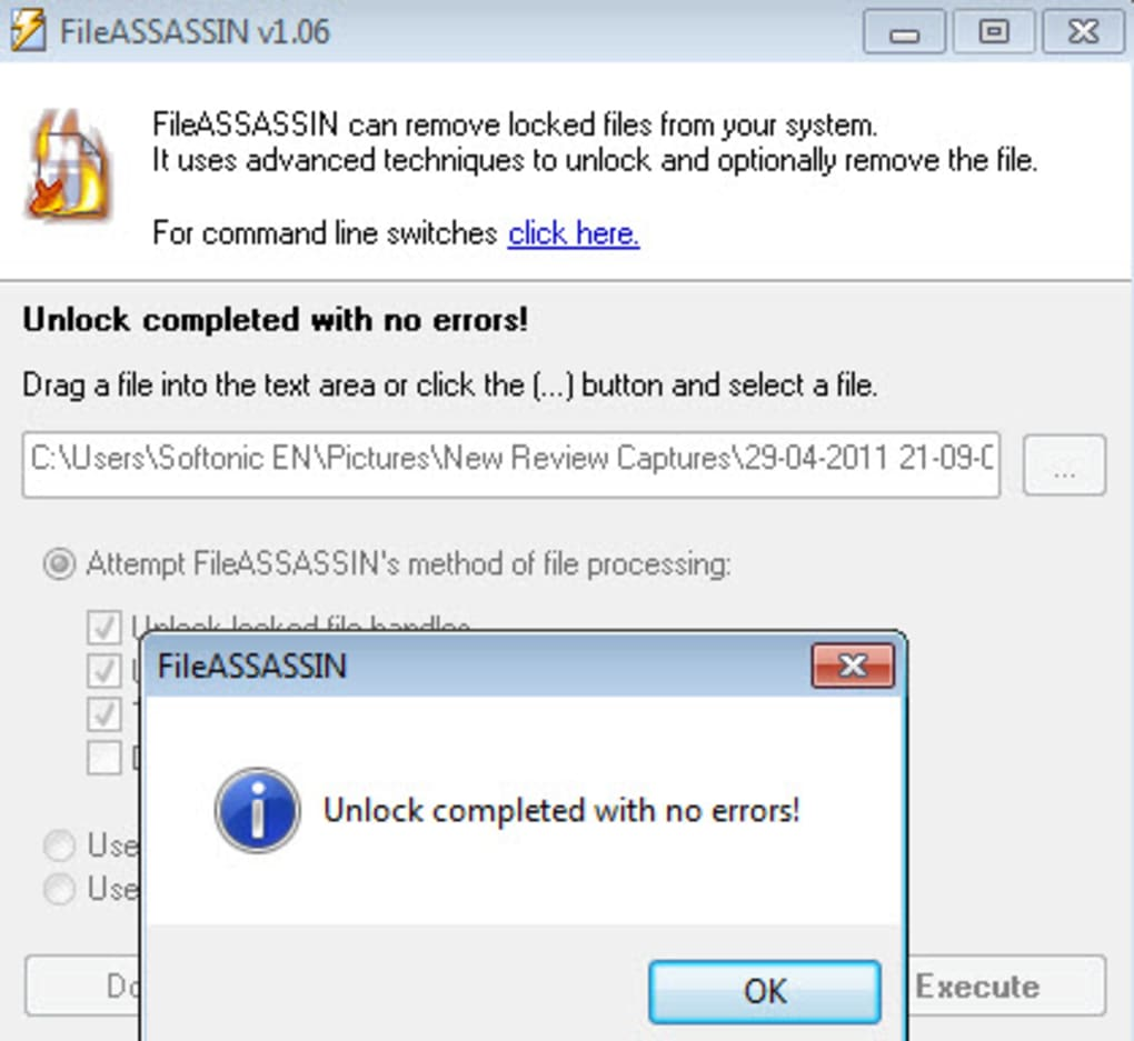 fileassassin windows 7