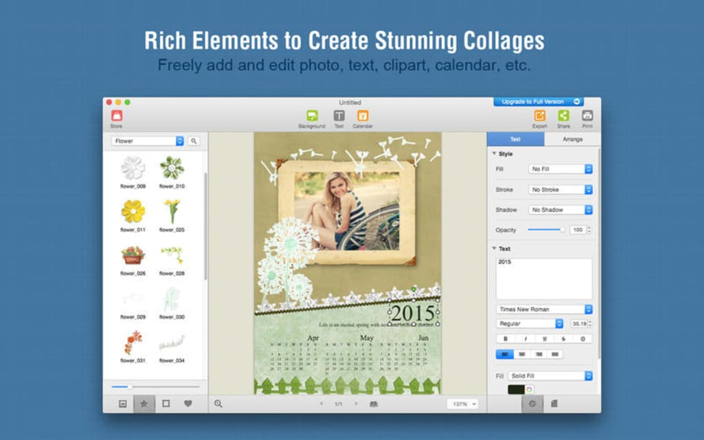 Picture Collage Maker 3 Lite for Mac - Download