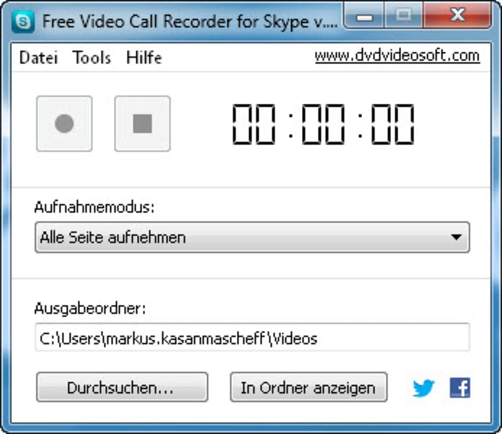 Free Video Call Recorder for Skype - Download