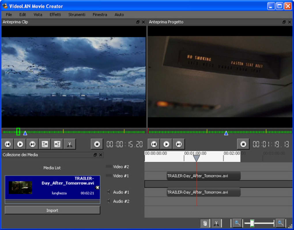 videolan movie creator 0.1.0