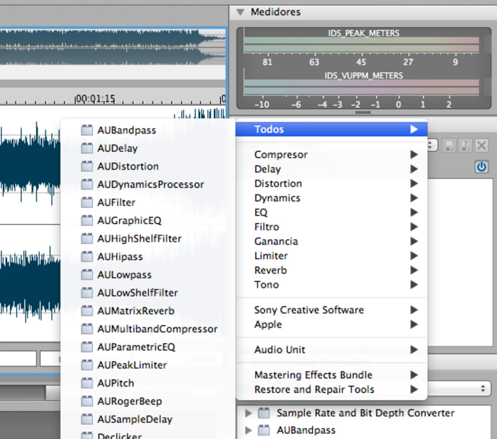 Sound forge download free for mac download