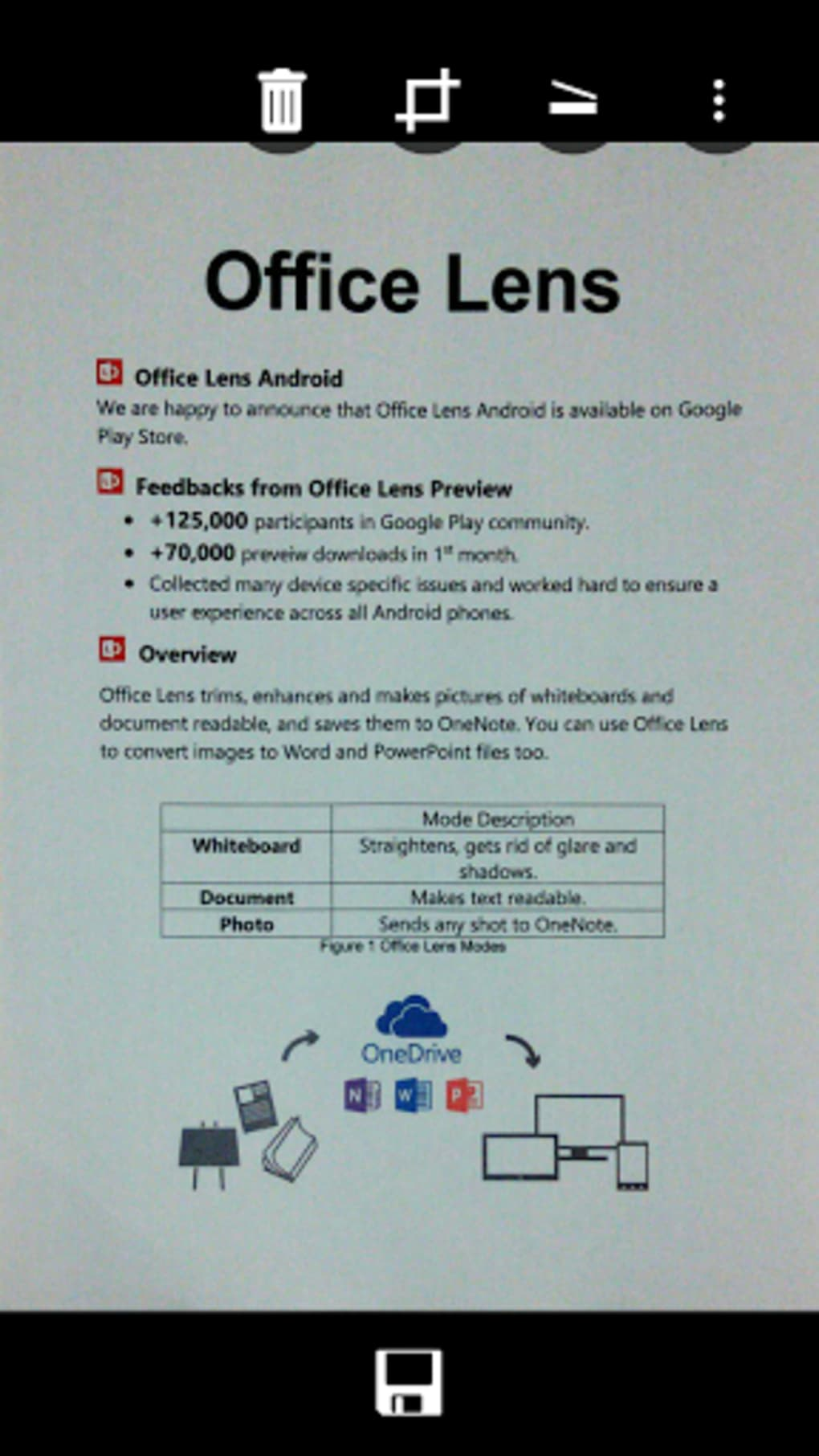 Office Lens for Android - Download