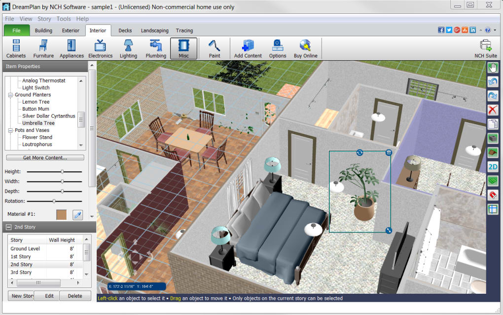 DreamPlan Home Design Software. 1/10 Screenshots