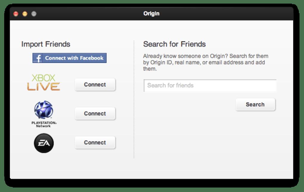 Origin for Mac