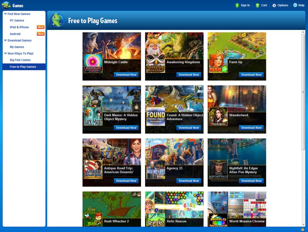 Big Fish Games App (Game Manager) – Big Fish Games Help