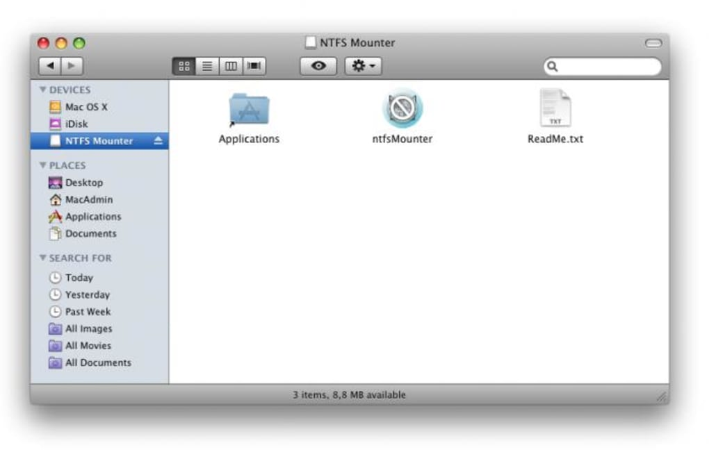 Write files to Microsoft NTFS drives on your Mac