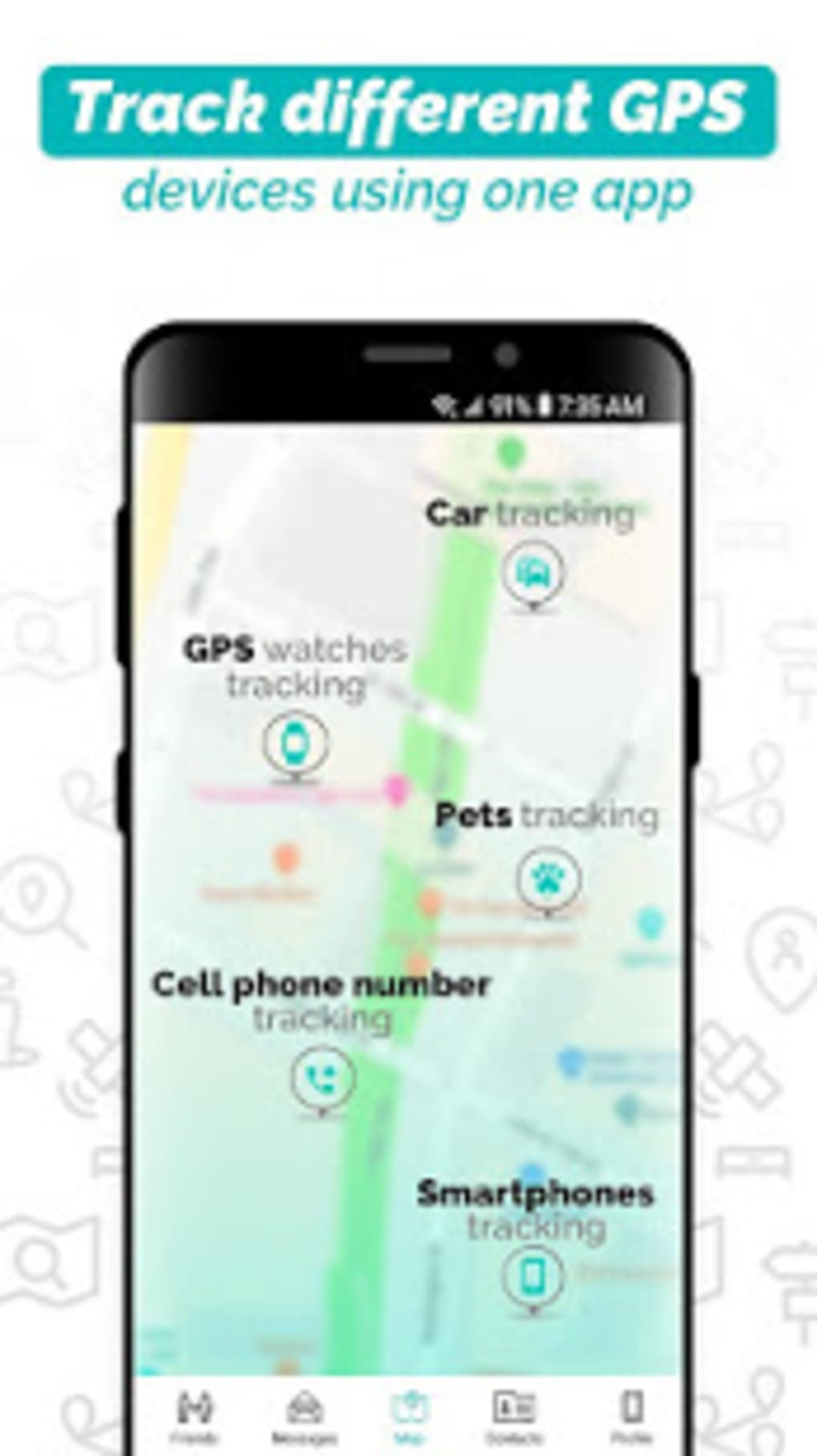 iMapp find my friends cell phone locator 6 for Android - Download