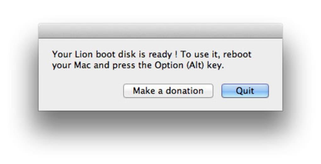lion diskmaker pour mac