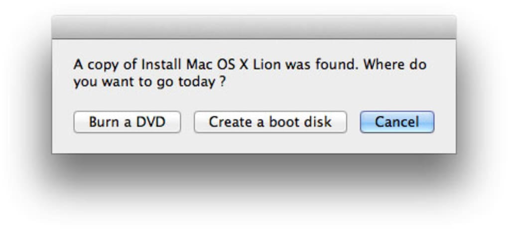 nuovamente lion da app store