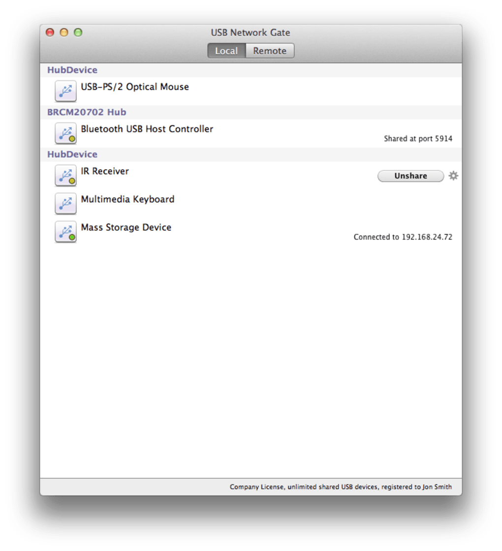 eltima usb network gate mac