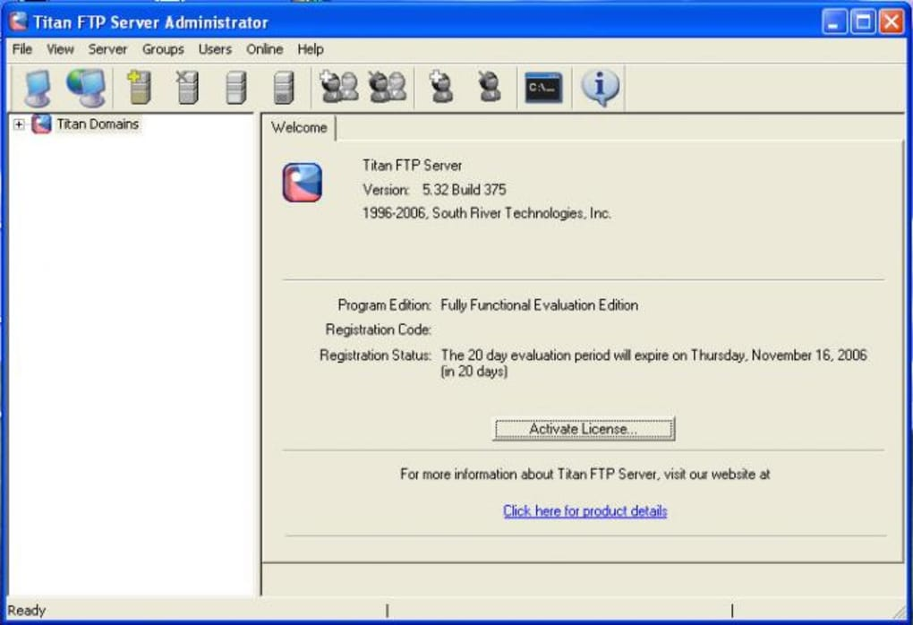 Titan FTP Server - Download