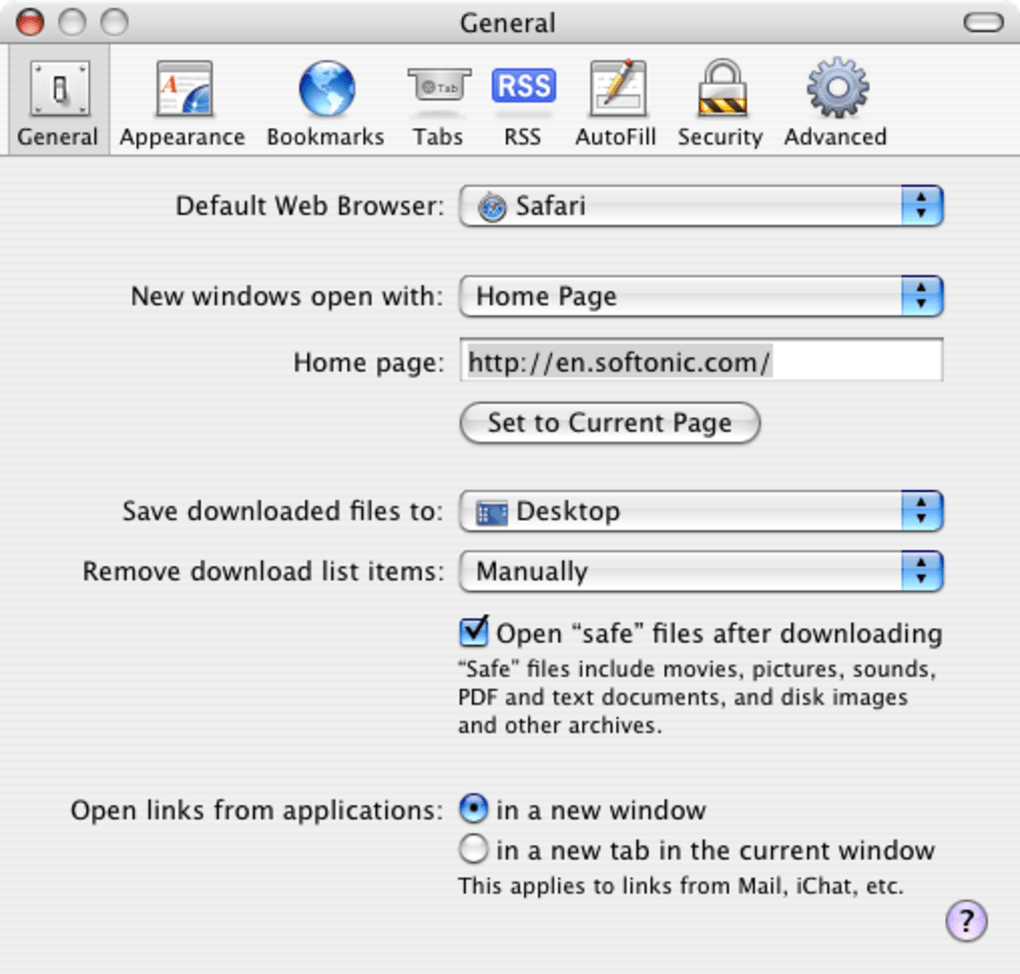 Latest version of Safari for mac 10 4