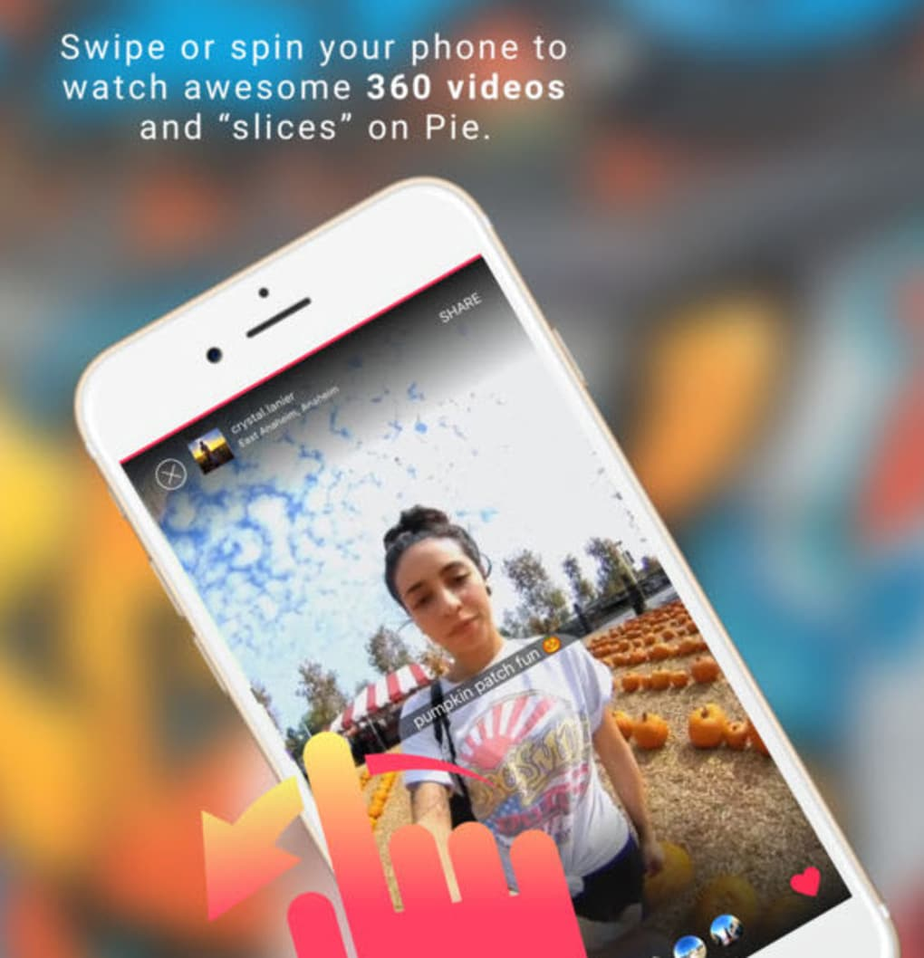 Pie - make and watch 360 videos for iPhone - Download
