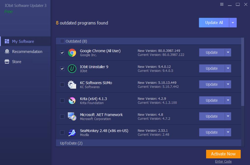 IObit Software Updater