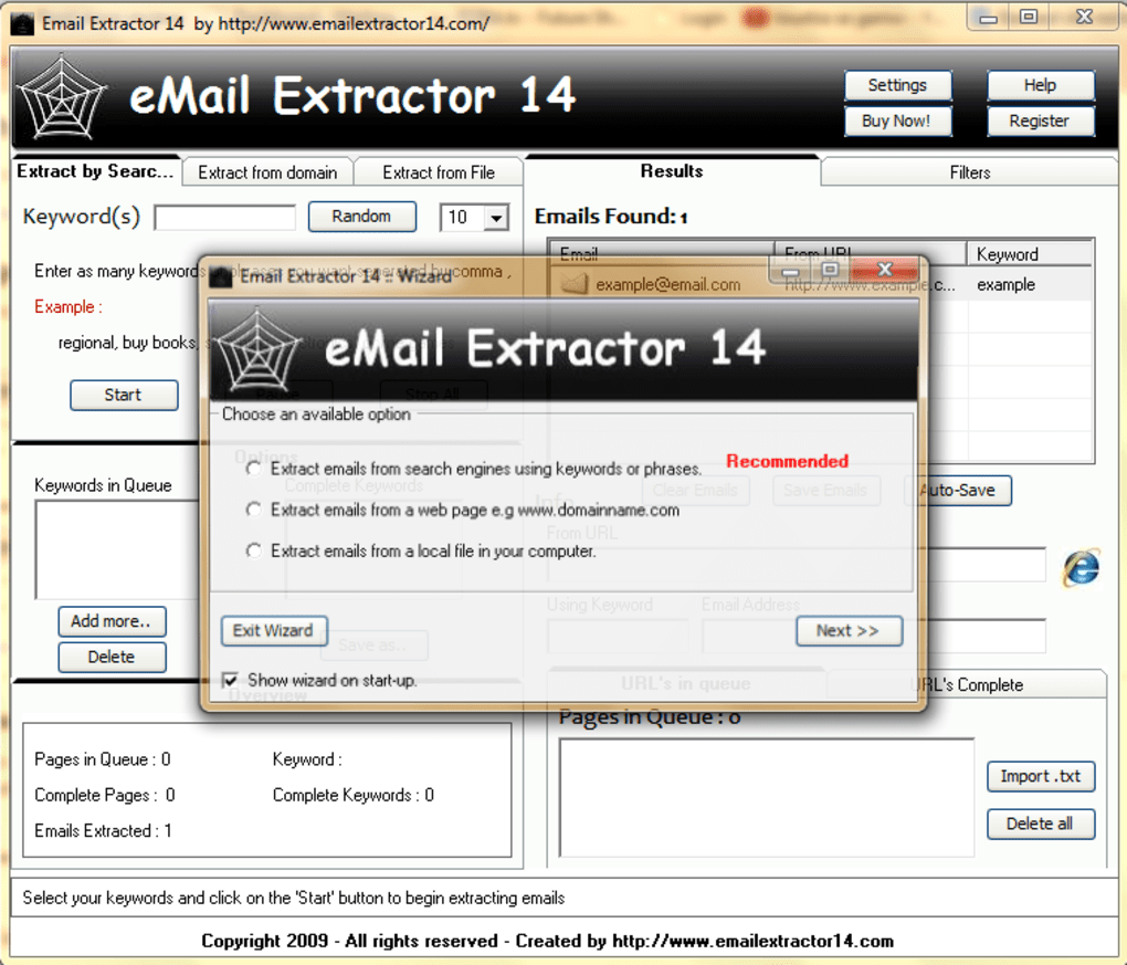 Email Extractor - Download