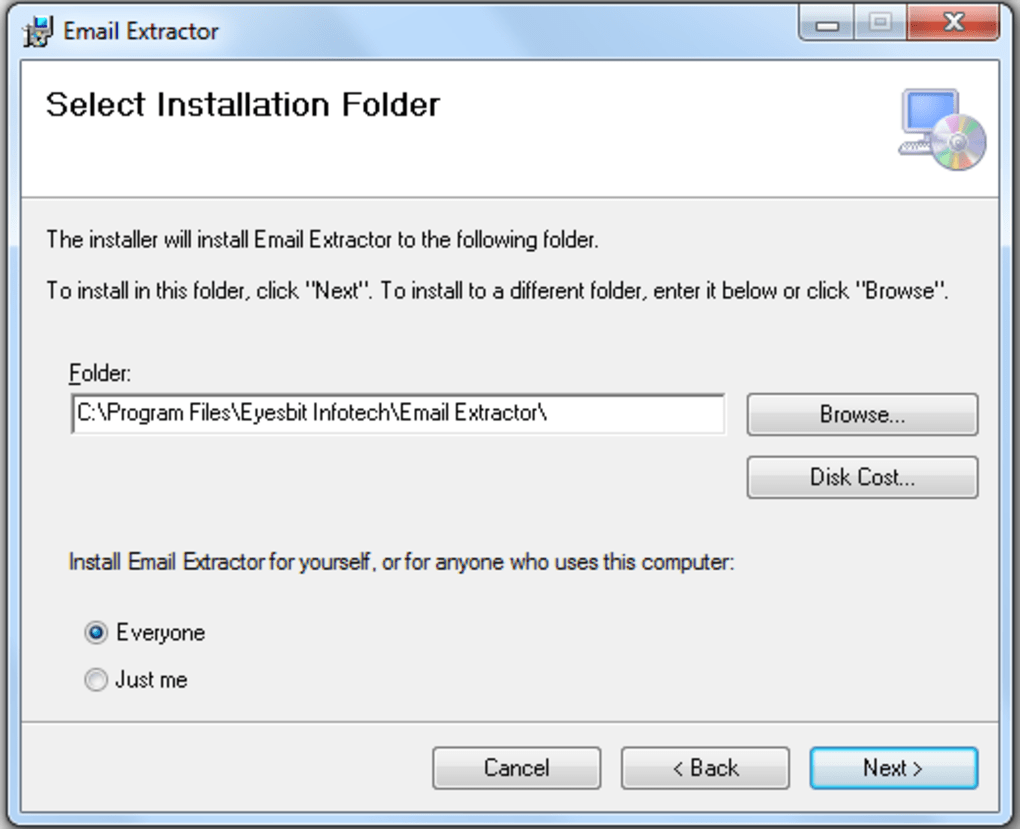 Email Extractor Software - Download