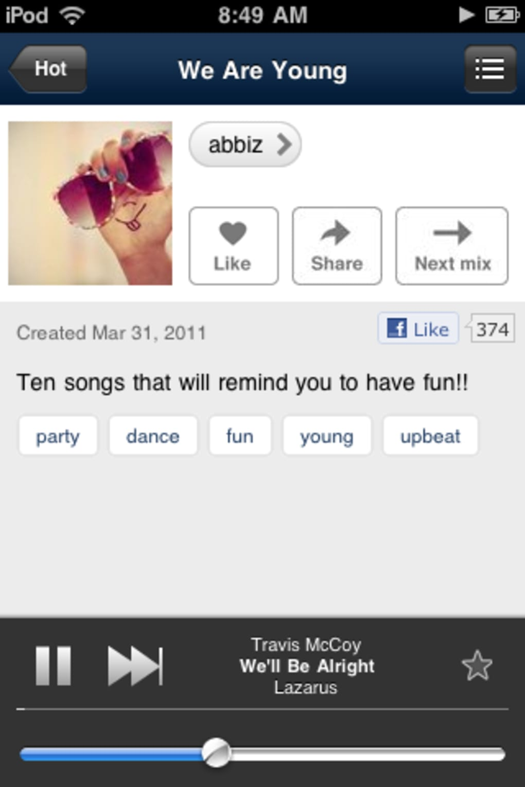 download songs from 8tracks