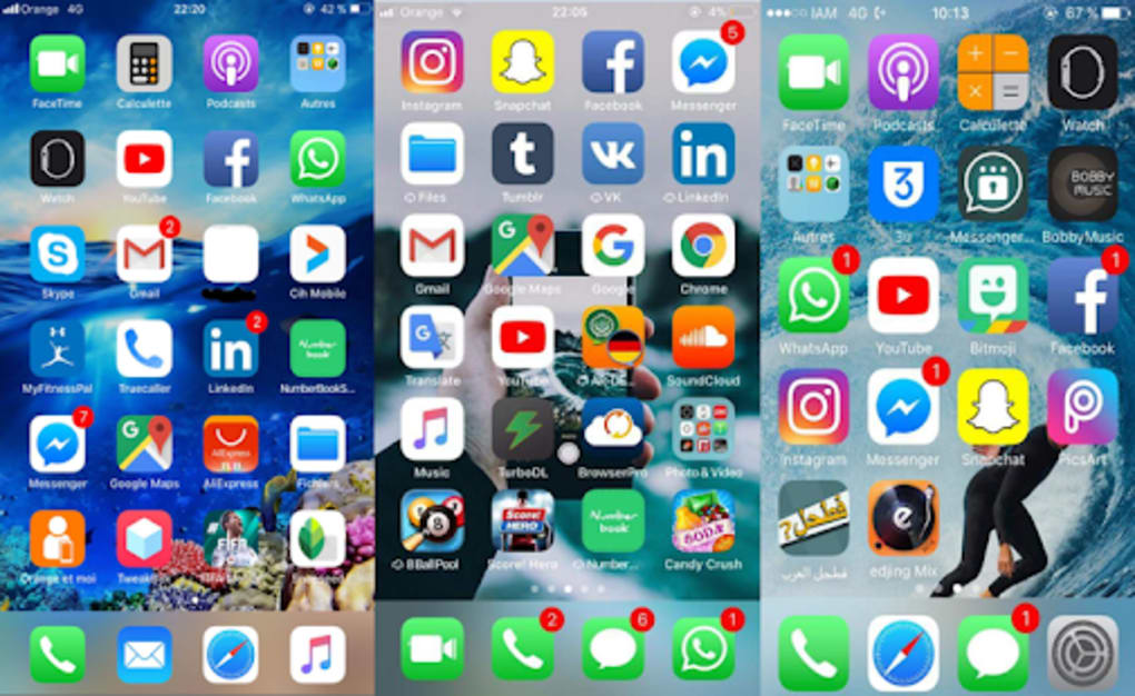 iLauncher Iphone X iOS 11 Launcher And Iphone 7 for Android - Download