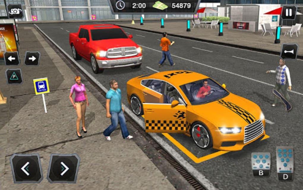 taxi car driver games