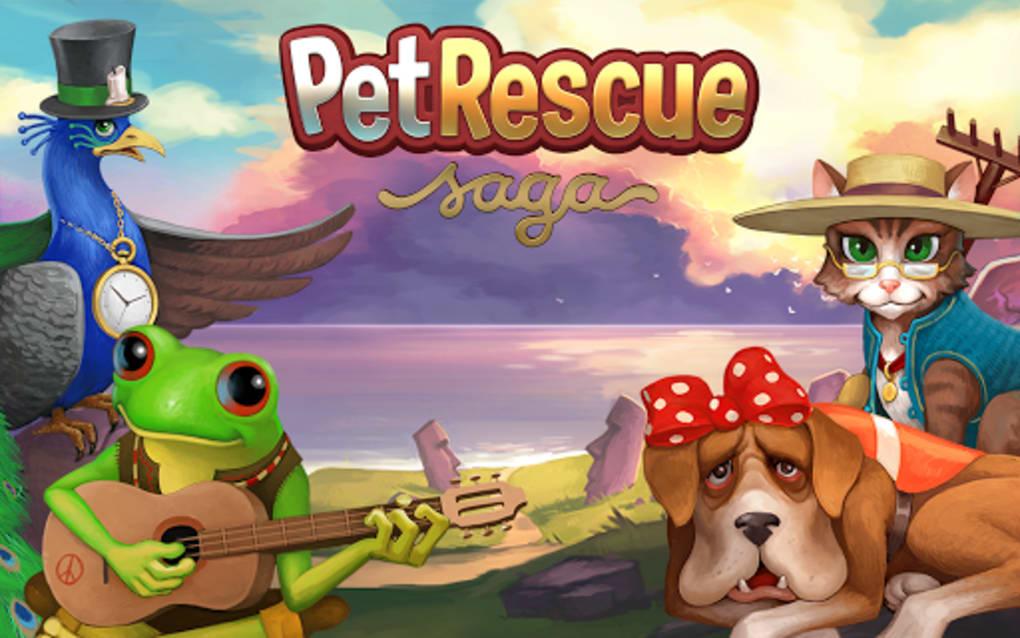 pet rescue saga uptodown