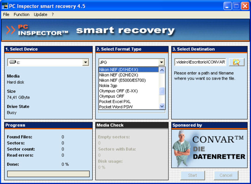 Pc inspector smart recovery descargar.