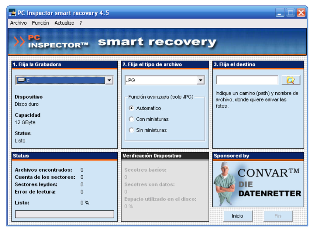 Pc inspector smart recovery download.