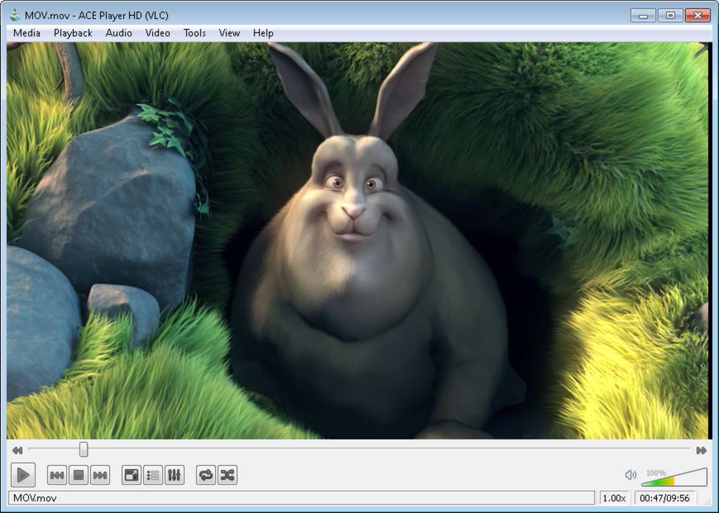Multimedia player based on VLC