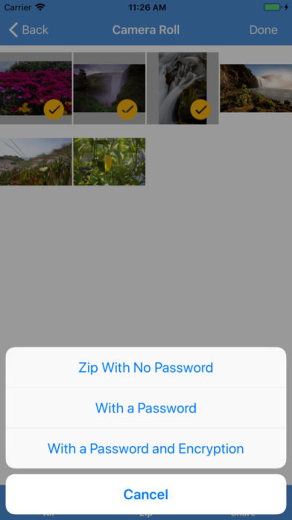 iZip Pro for iPhone – Zip Unzip Unrar (iPhone) - Download