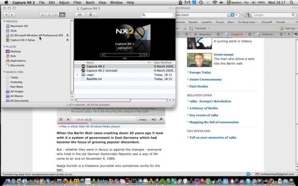 capture nx download free mac