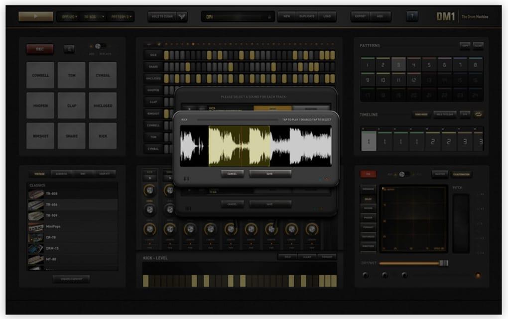 Dm1 The Drum Machine Mac Download