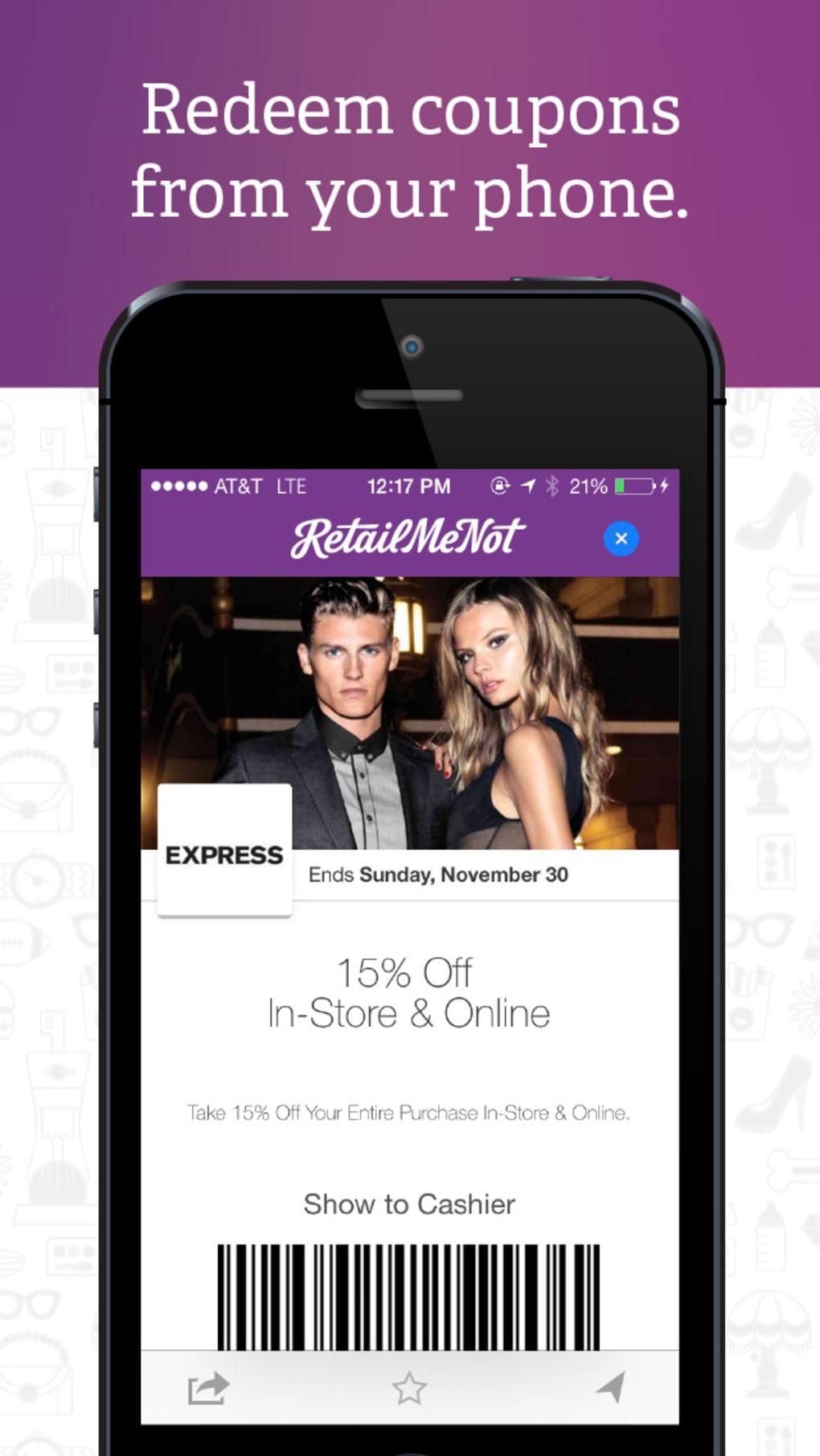 Retailmenot app for windows phone