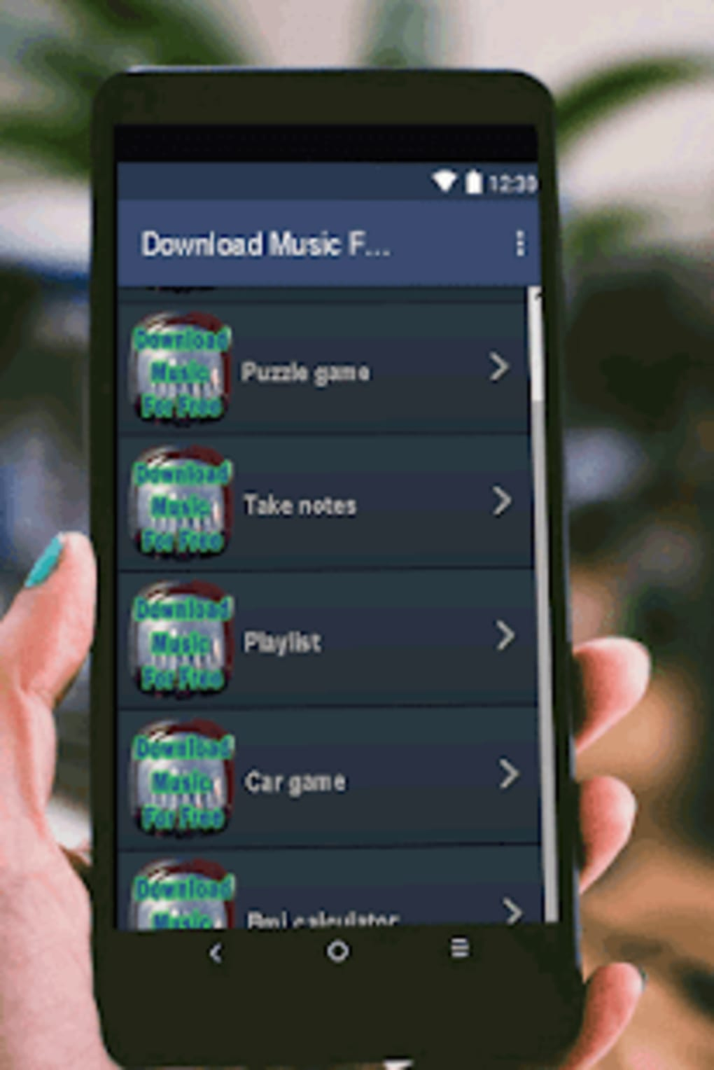 where can i download free music to my android phone