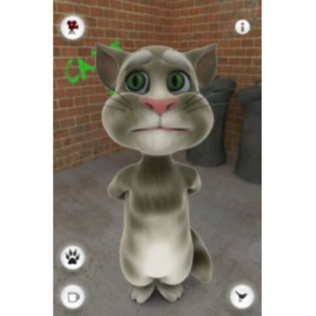 My Talking Kitty Cat для Android GamePlay - video dailymotion