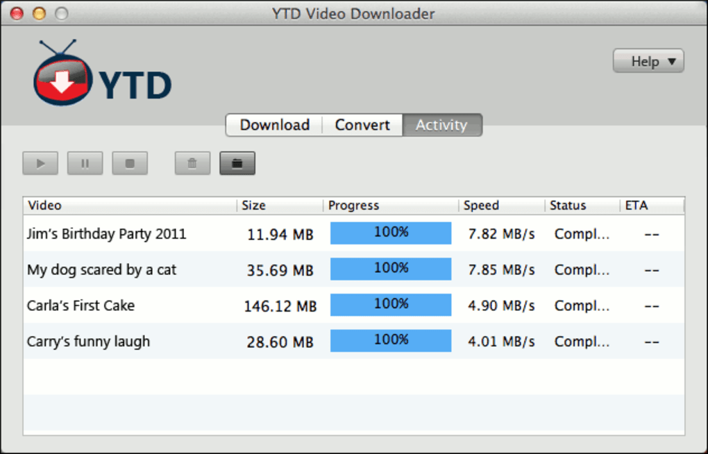 YTD for Mac (Mac) - Download