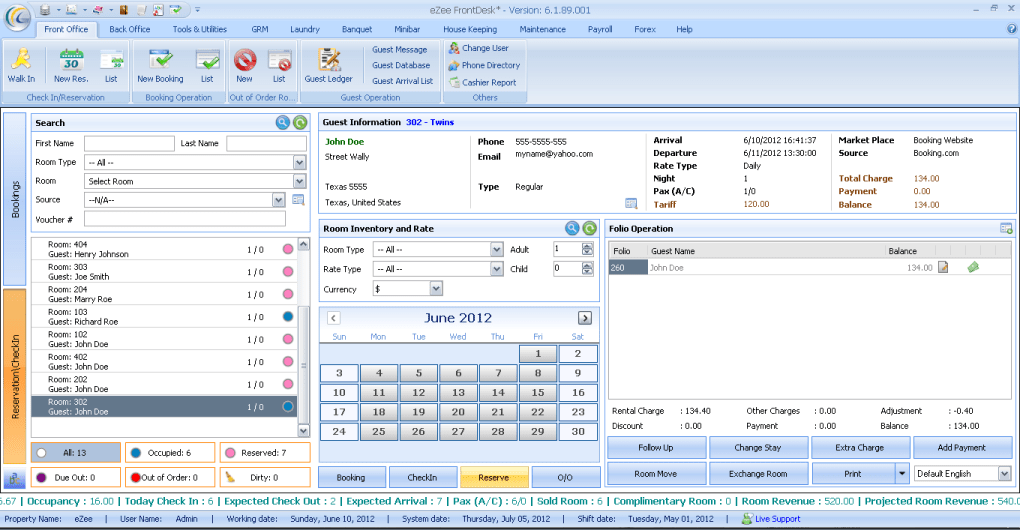Ezee Frontdesk Hotel Management System Download