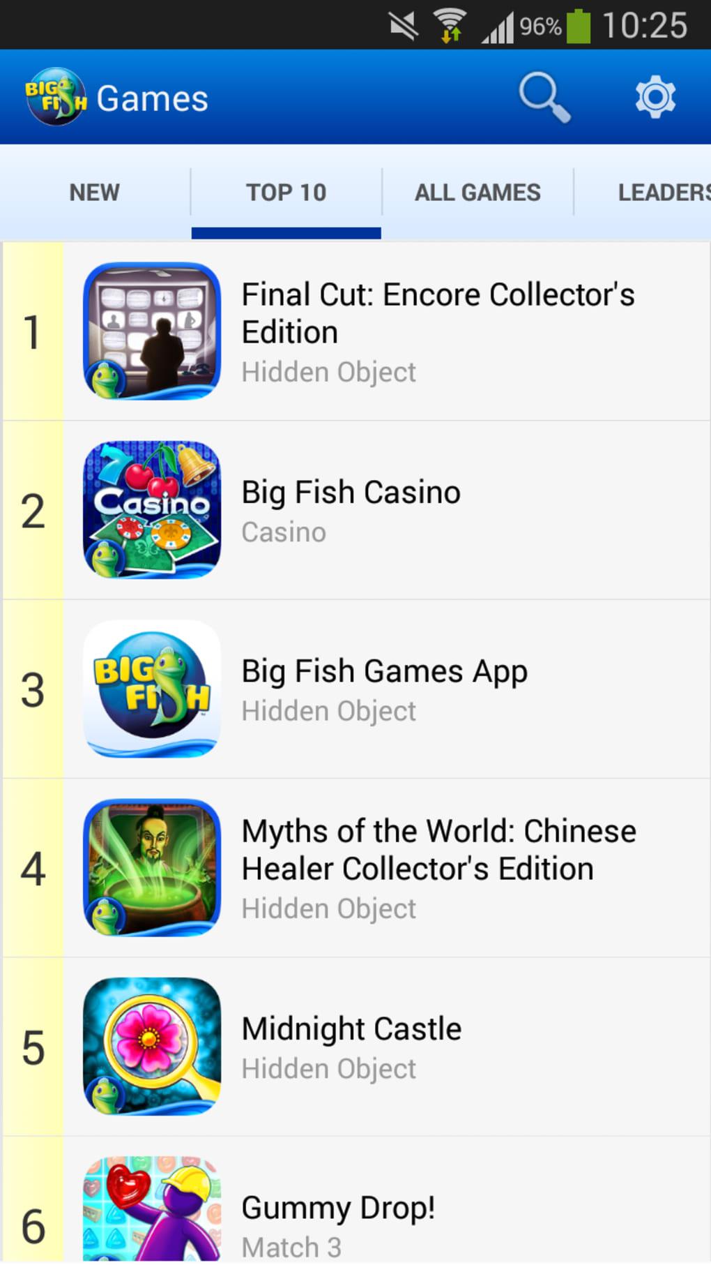 big fish games app pour android t l charger. Black Bedroom Furniture Sets. Home Design Ideas