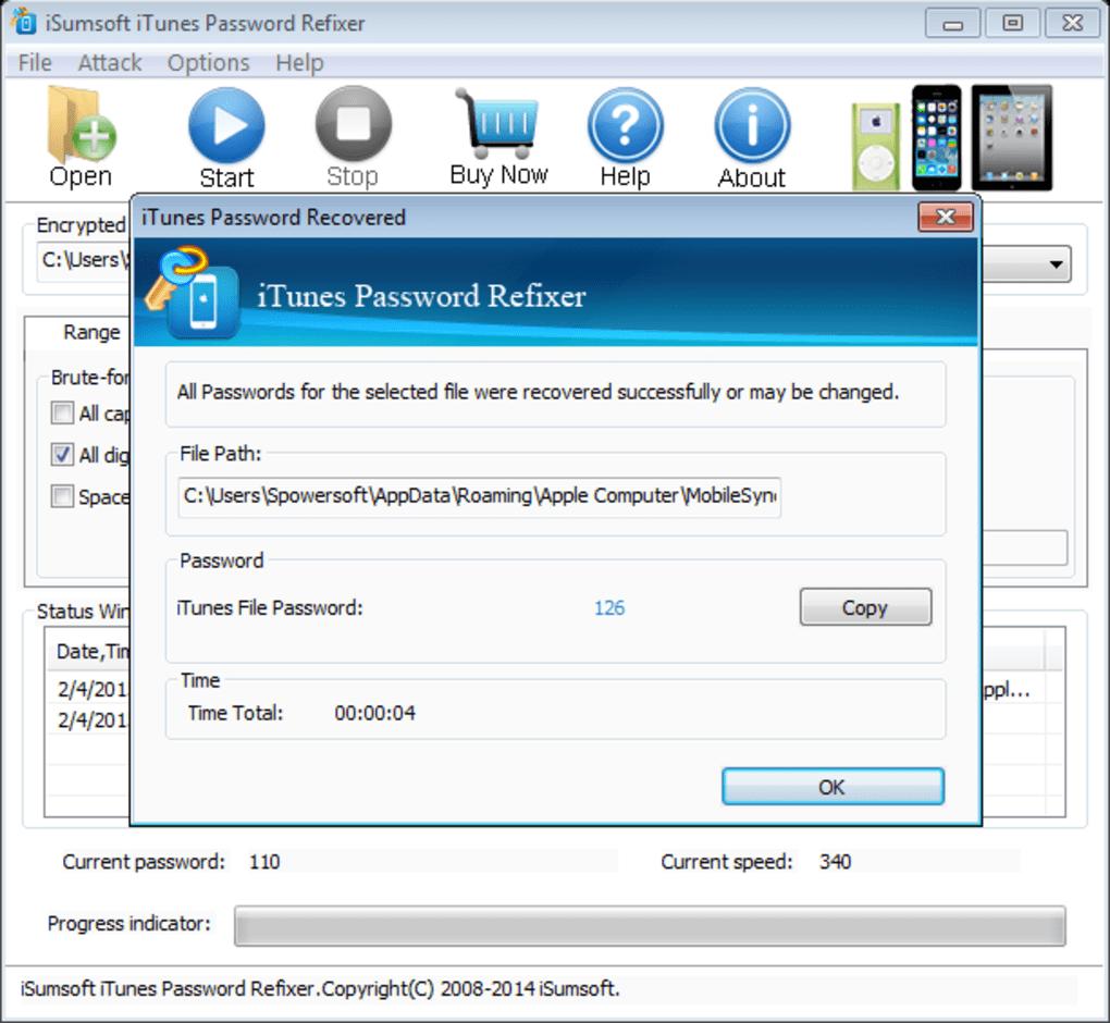 iSumsoft iTunes Password Refixer - Download