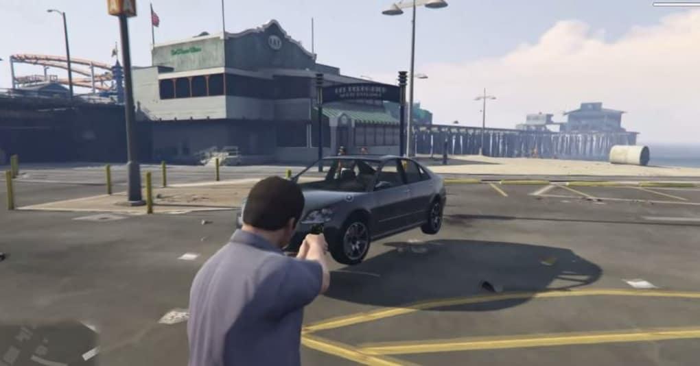 GTA 5 Gravity Gun