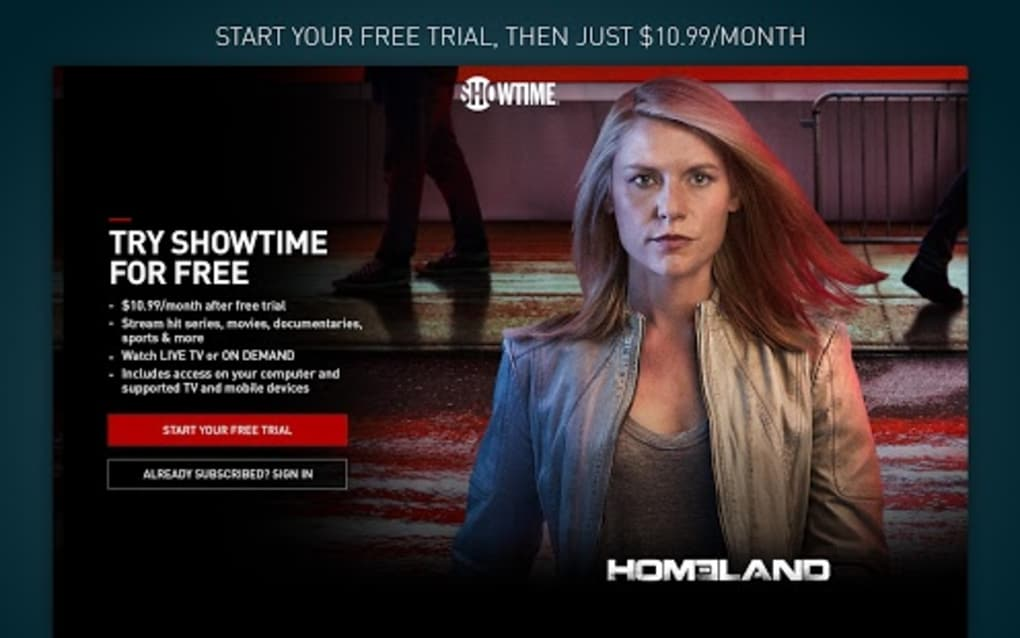 SHOWTIME for Android - Download