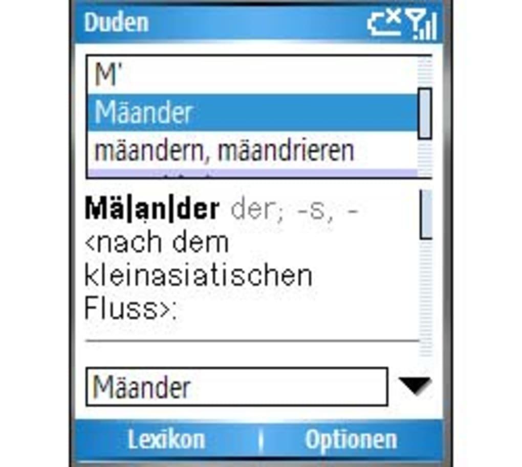 Duden Das Synonymwörterbuch Für Windows Mobile Download