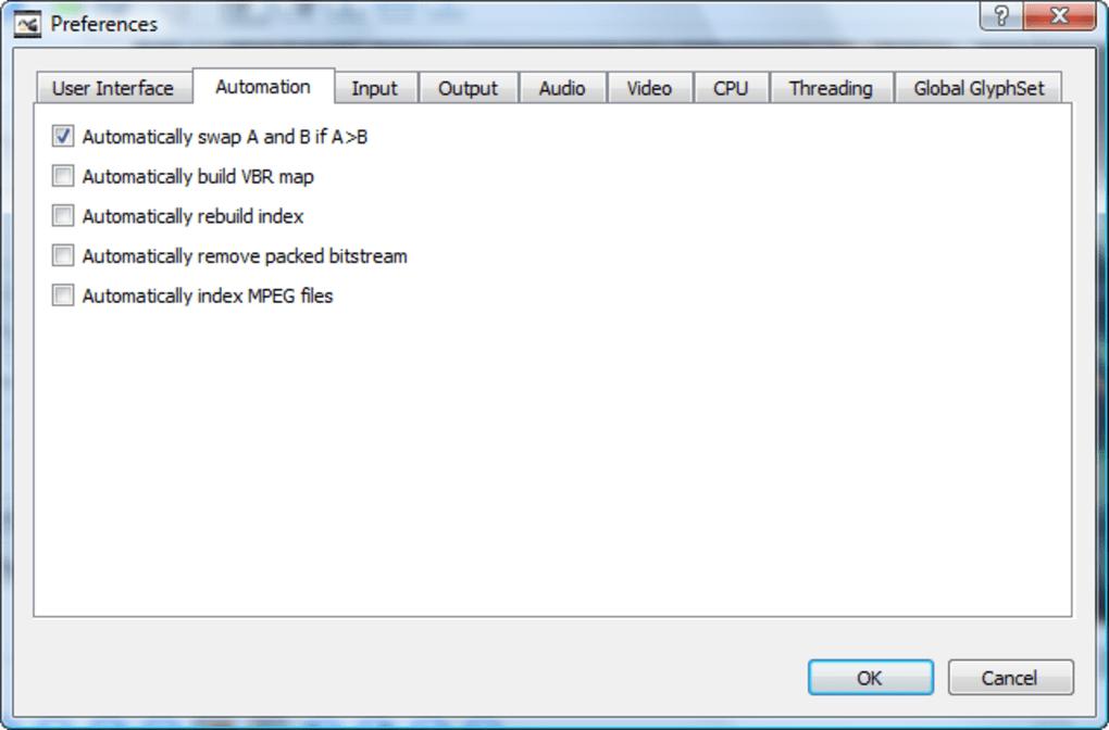 avidemux 2.5.6
