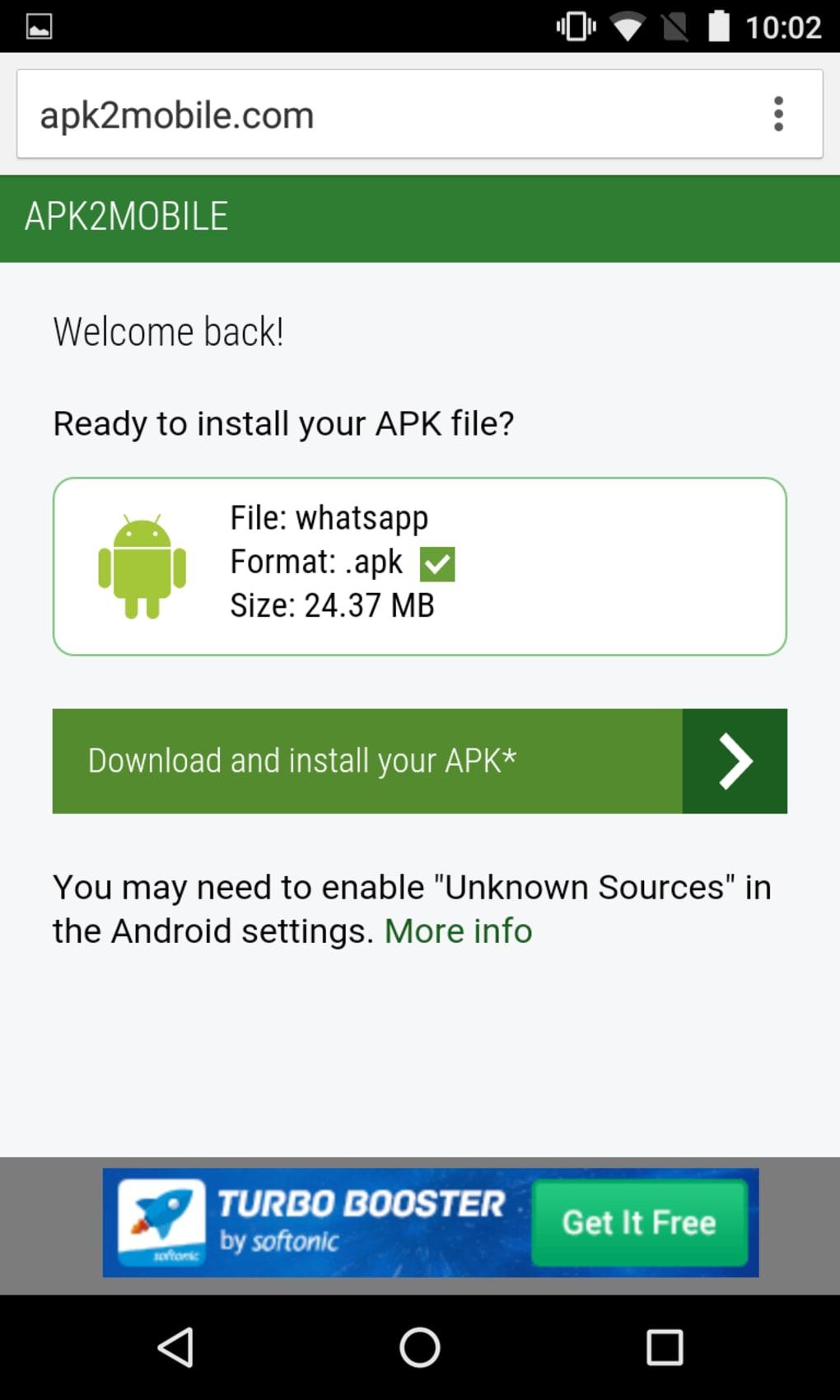 APK2Mobile - Download