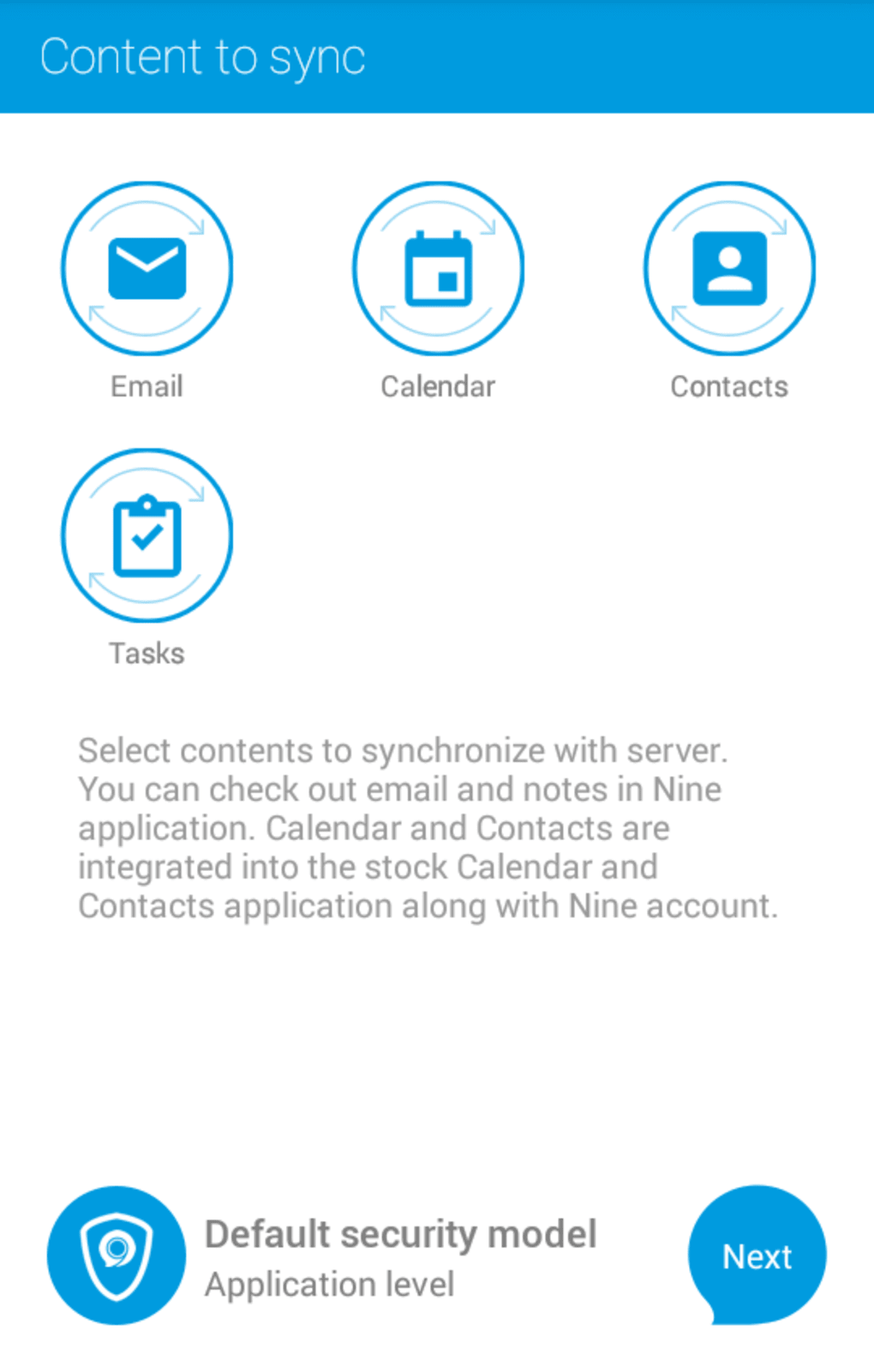 Nine - Exchange ActiveSync for Android - Download