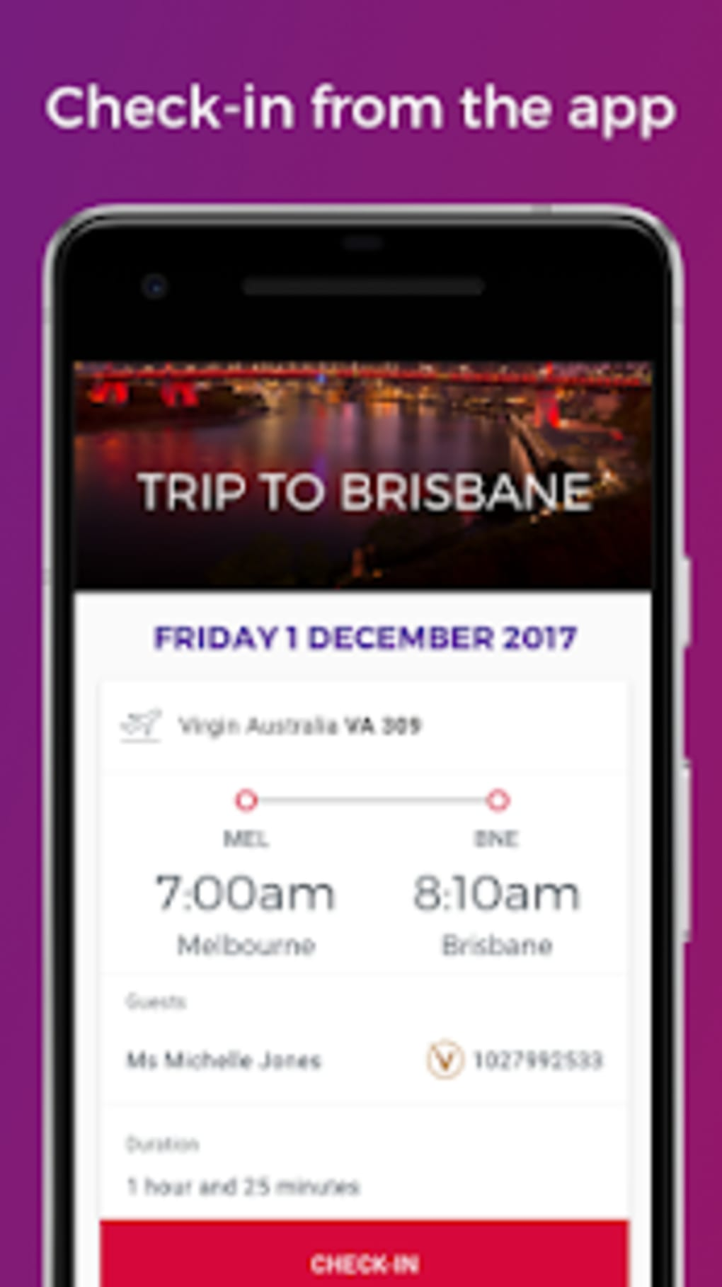 Virgin Australia for Android - Download