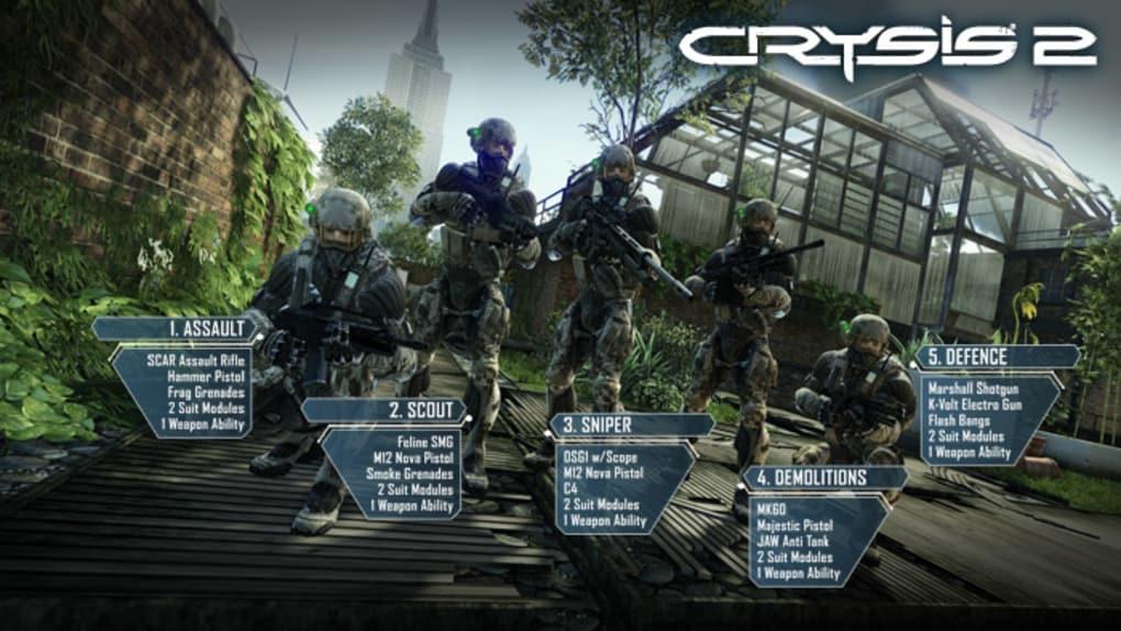 Crysis maximum edition demo.